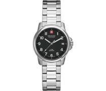 Swiss Soldier Lady Prime Schweizer Uhr silber