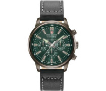 Horizon Multifunction Chronograph dunkelbraun