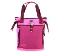 Qukoo Nylon Fire Frei Shopper pink