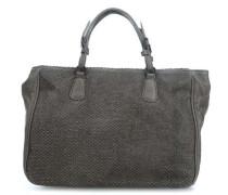 Agnello Intagliato Handtasche taupe
