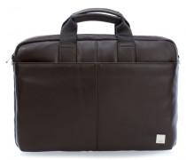 Brompton Durham 15'' Aktentasche mit Laptopfach braun
