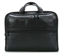 Alpha Business Leather 17'' Aktentasche mit Laptopfach