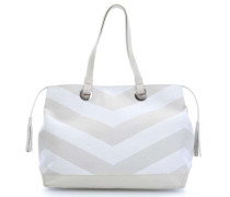 Stripes Lilith Shopper elfenbein