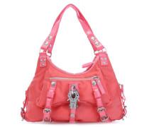 Nylon Mos Cowgirl Handtasche pink