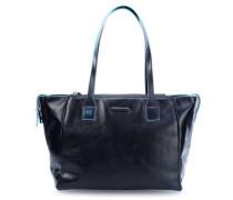 Blue Square Shopper blau