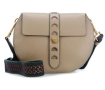 Carousel Schultertasche taupe