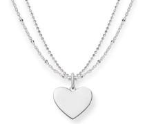 Love Bridge Halskette silber