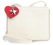 Logo Story Schultertasche champagner