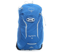Syncro 10 S/M Rucksack blau