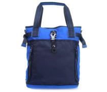 Qukoo Nylon Fire Frei Shopper blau