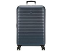 Segur 2.0 4-Rollen Trolley blau metallic