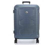 PC Hardside L Spinner-Trolley blau
