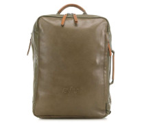 Japan Nagoya Laptop-Rucksack 15″ olivgrün