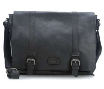 Belt 14'' Laptop Messenger schwarz