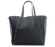 NiigataF7 Reversible Shopper schwarz