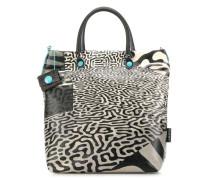 Trip Betty M Handtasche schwarz/weiß