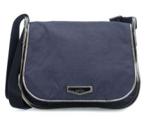 City New Luxeables Schultertasche blau metallic