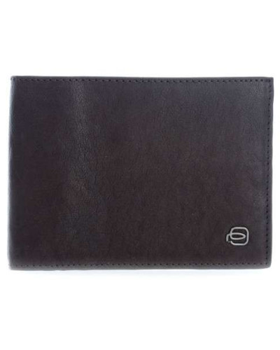 Black Square Geldbörse dunkelbraun