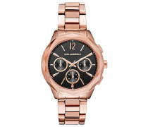 Optik Chronograph roségold