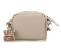 Leather The Brique Schultertasche beige