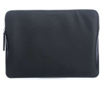 "Embossed Sleeves 12"" Macbook Sleeve Tablet-Tasche schwarz"