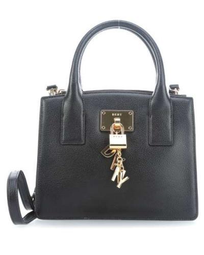 Billig Rabatt DKNY Damen Elissa Schultertasche schwarz Freies Verschiffen Sammlungen PWi5wd3DF