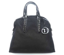 Aspen Cavallino Handtasche schwarz