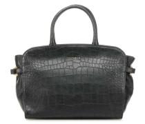 Ella Croco Handtasche schwarz