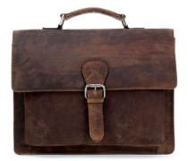 Antic 11'' Aktentasche mit Laptopfach natur