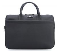 Traveller Aktentasche mit Laptopfach schwarz