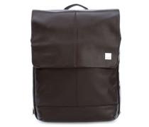 Brompton New Hudson 15'' Laptop-Rucksack braun