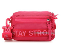 Roots Strong Yma Schultertasche fuchsia