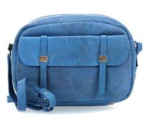 Snappy Schultertasche blau