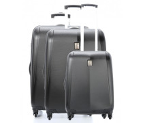 Extendo 3 Set Trolley-Set schwarz