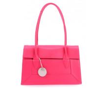 Border Handtasche pink