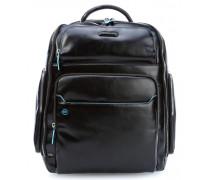 Blue Square 15'' Laptop-Rucksack schwarz