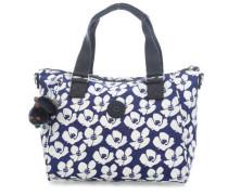 Basic Amiel Handtasche blau/weiß