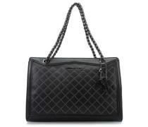 Saint Tropez Ecoleather Micro Studs Handtasche schwarz