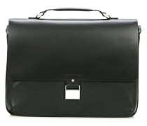 Shyrt-Leather 14'' Aktentasche mit Laptopfach schwarz