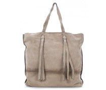 Burnished Cow Suede Shopper