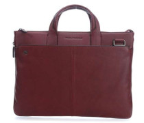 Black Square 15'' Aktentasche mit Laptopfach bordeaux