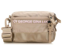 Roots Solid Yma Schultertasche beige