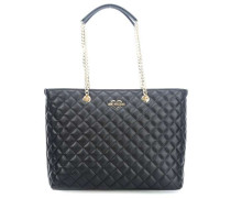 Superquilted Shopper schwarz