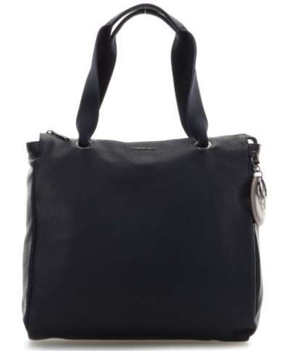 Mellow Leather Handtasche 13″ dunkelblau