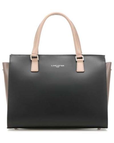 Constance Handtasche schwarz/beige