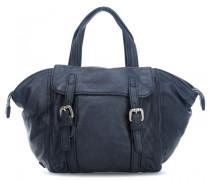 Two Handtasche dunkelblau