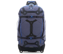 Gear Warrior 110 2-Rollen Trolley blau
