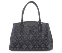Samantha Ecoleather Studs Handtasche schwarz