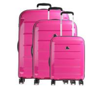 Binalong 4-Rollen Trolley Set pink 75