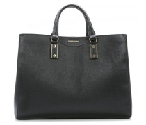 Leather Large Malia-F Shopper schwarz
